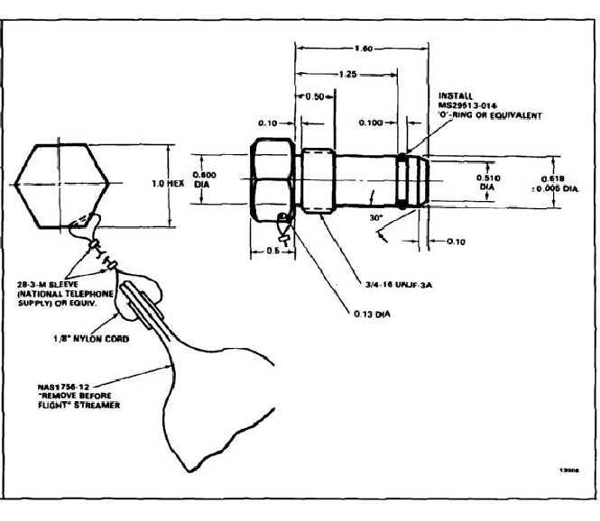 Test Drain Plug Test Plug E-55 Notes 1